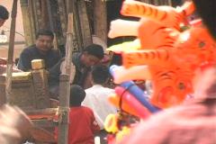 Kathmandu Street Scene 2 Stock Footage