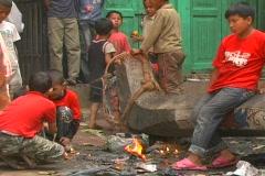 Kathmandu Street Scene 3 Stock Footage