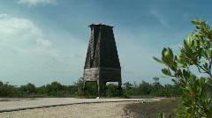 Sugarloaf Key Bat Tower Long Shot Stock Footage