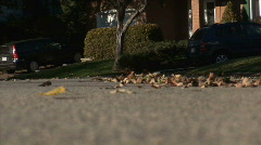 Longboard Fall HD Stock Footage