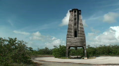 Sugarloaf Key Bat Tower Pan Right Reveal Stock Footage