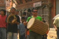 Kathmandu Religious Festival 4 Stock Footage