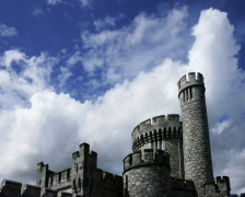 Blackrock Castle, Cork, Ireland Stock Footage