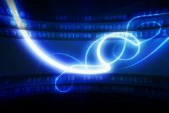 Dark blue modern background NTSC - stock footage