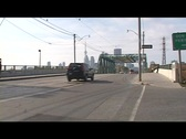 Toronto -Red Rocket and CN Tower Stock Footage