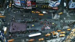 NYC Times Square 08 Time-lapse - stock footage