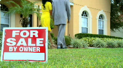Property Viewing Stock Footage