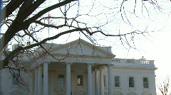 U.S. White House, Tilt Down Stock Footage