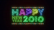 Stock Video Footage of Happy New Year