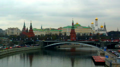 Russia Moscow Kremlin Stock Footage