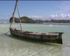 Stock Video Footage of White Beach Kenya