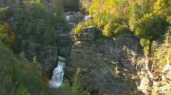Linville falls05 Stock Footage