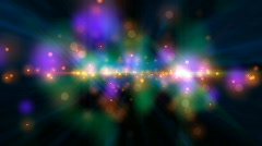 Psychedelic Stars (24fps) Stock Footage