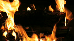 Fire Pit Stock Footage