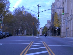 NYC Time-Lapse Riverside Drive Stock Footage