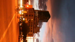 City scenes - digital display ready - 6 Stock Footage
