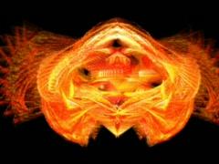 vj phoenix merge  Pjpg - stock footage