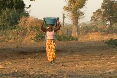 Stock Video Footage of Senegal Village 2