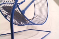 Close-up of a mouse in an exercise wheel. Stock Footage