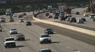 Stock Video Footage of Freeway Medium Traffic