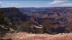 Grand Canyon National Park in Arizona. Stock Footage