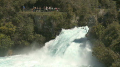 High volume waterfalls Stock Footage