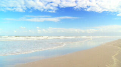 Tranquil Beach Stock Footage