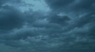 Storm Cloud time lapse Stock Footage