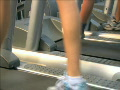 Women Treadmill Low Angle 2 Footage