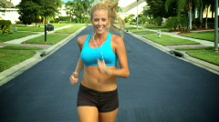 Fitness Lifestyle Stock Footage