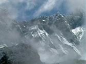 Himalayan Mountain Face Stock Footage