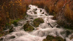 Fall Waterfall Speed 8 - stock footage