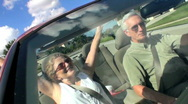 Stock Video Footage of Luxury Driving in Retirement