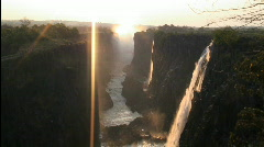 Victoria Falls, Zambia, South Africa, - stock footage