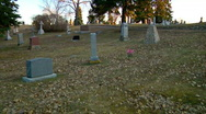 It is Appointed unto Man once to Die as the Body Rots in a Musty Grave Stock Footage