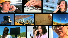 Business & Energy Montage - stock footage