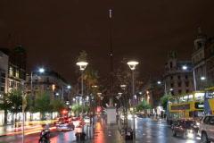 Dublin, Ireland, O'connell street - stock footage