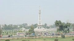 Minar-e-Pakistan Lahore - stock footage