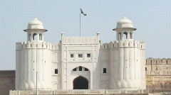 Lahore Fort - stock footage