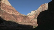 Stock Video Footage of Utah Zion-zoom day