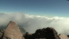 Malinche Mountain Mexico Time Lapse Stock Footage