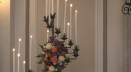 Candles05 Stock Footage