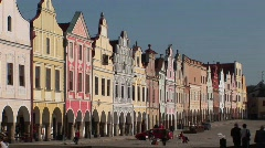 The charming town of Mikulov in the Czech Republic. - stock footage
