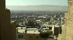 A cityscape in Iran. Stock Footage