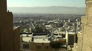 Stock Video Footage of A cityscape in Iran.