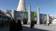 Stock Video Footage of The Tomb of the Prophet Daniel in Susa, Iran.