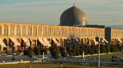 Naqsh-e Jahan Square in Isfahan, Iran. Stock Footage