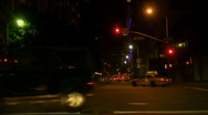 Surreal Los Angeles Night Series Stock Footage