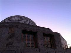 Adler Planetarium Sunset Chicago 400x300 - stock footage