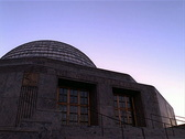 Stock Video Footage of Adler Planetarium Sunset Chicago 400x300